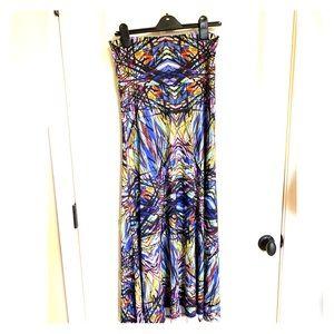 Lularoe Maxi Skirt S Multi Color